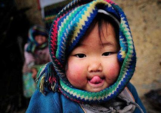 visage enfant, innocence, Dieu