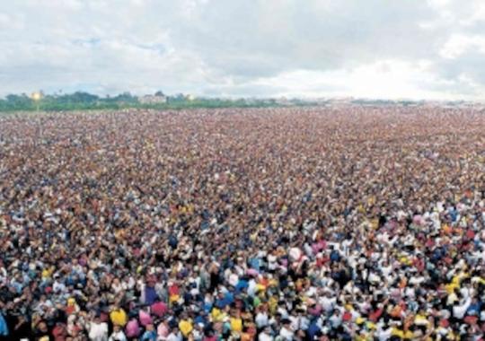 multitude, foule